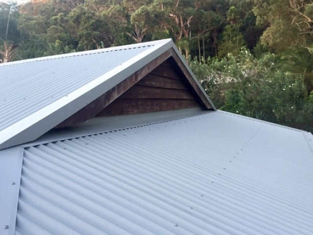 Tile to Metal Re Roof