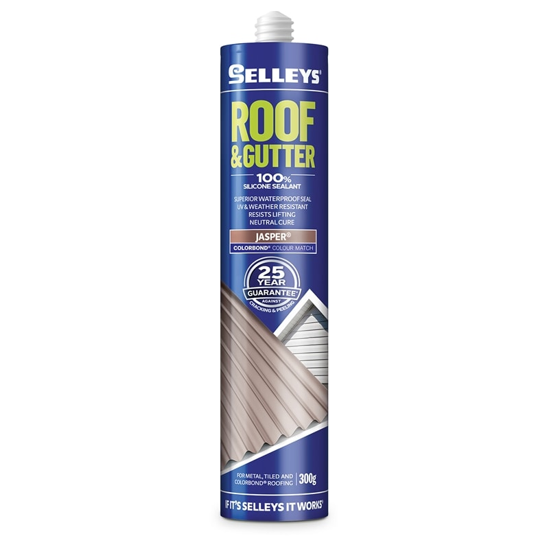 Selleys 300g Jasper Roof And Gutter Silicone