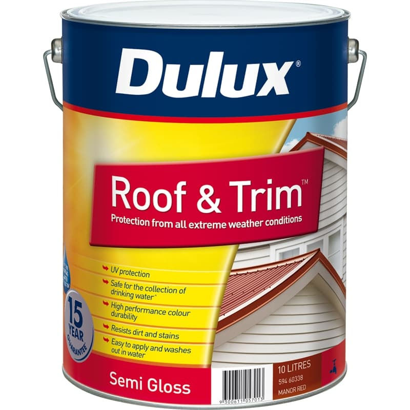 Dulux Roof & Trim 10L Manor Roof Exterior Paint
