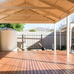 Softwoods Colorbond Roof Free Standing Patio Gable Kit