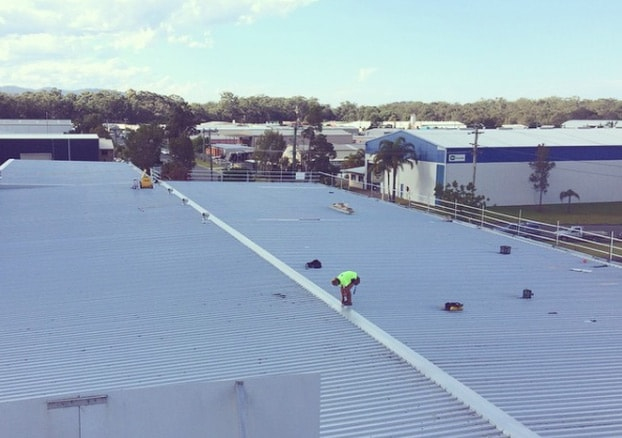 Commercial re-roof