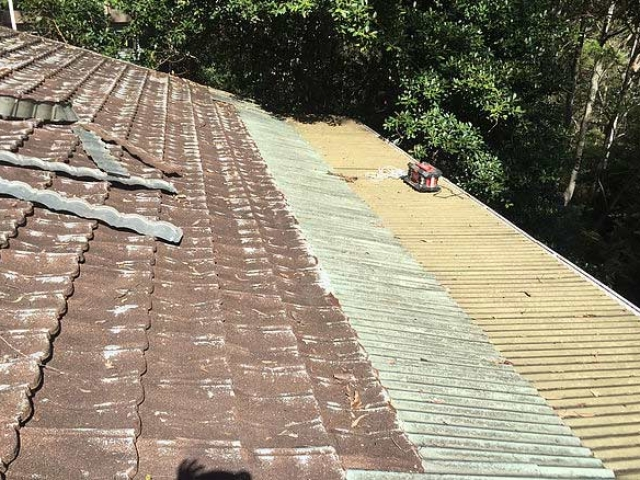 Re-roof before