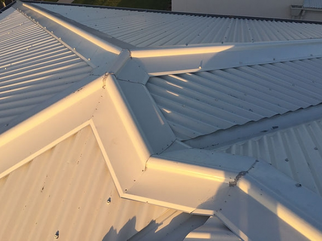 Hail damaged roof