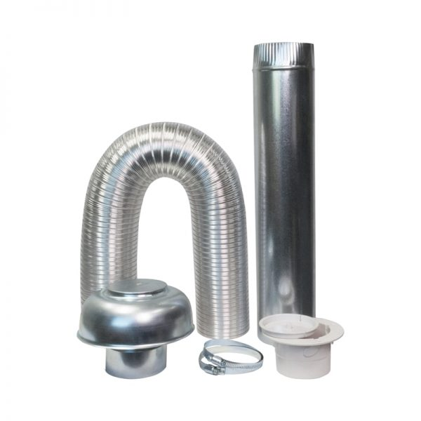Deflecto External Ceiling to Roof Dryer Venting Kit