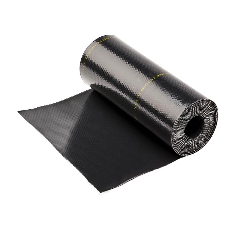 Deks 400mm x 4m Black Perform Roof Flashing