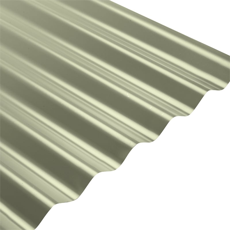 COLORBOND® Steel XRW S-Rib™ Corrugated .42 BMT Steel Roofing – Pale Eucalypt